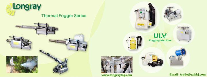 Longrayfog 2020 Thermal Fogger Machine | Anti-Corona Virus Thermal Fogger & ULV Cold Fogger