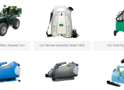 USE FOGGER MACHINES TO ADMINISTER YOUR DISINFECTANT