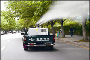 Truck-Mounted ULV Cold Fogger LR-4P